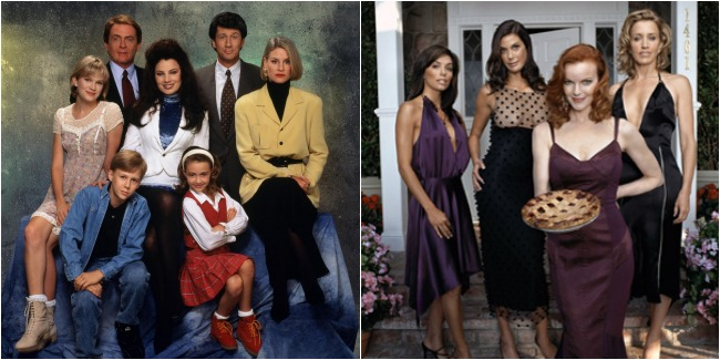 sunday social, the nanny, guilty pleasure tv shows, desperate housewives