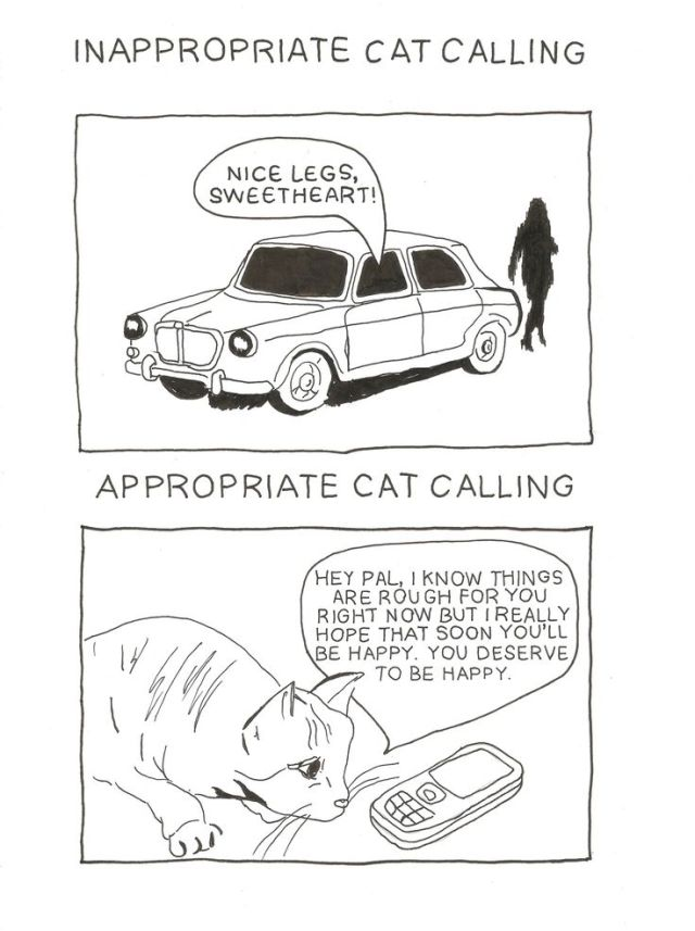 cat-calling, pinterest, illustration, cats, cat drawing