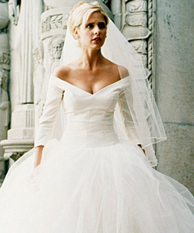 buffy summers, buffy the vampire slayer, the prom, wedding dress, pinterest wedding